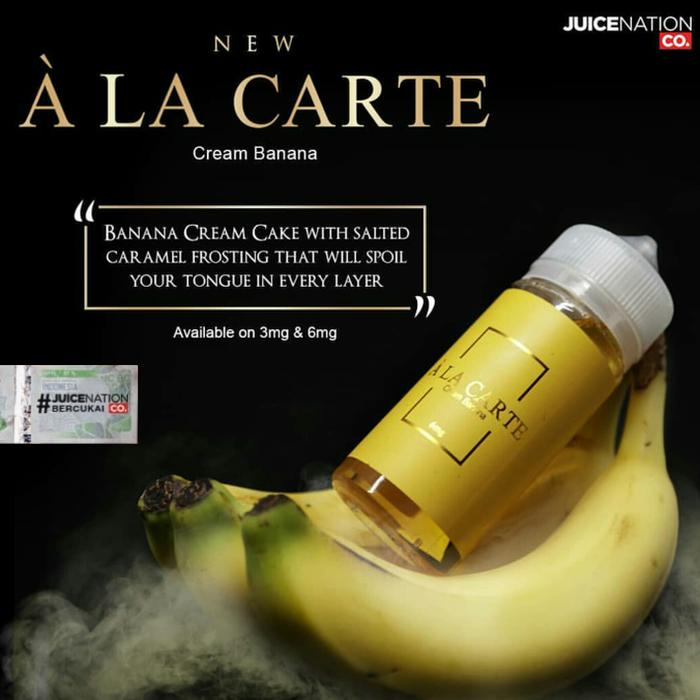 Ala Carte Banana Cream